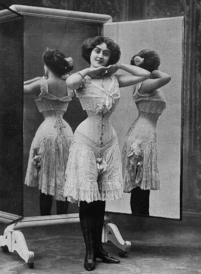 Les_Modes_1908_octobre_advertisement_for_le_corset_Thylda