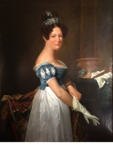 1821_painting_young woman with gloves